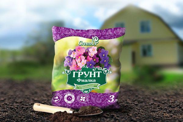Почва для фиалки