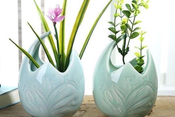 Керамический горшок для орхидеи